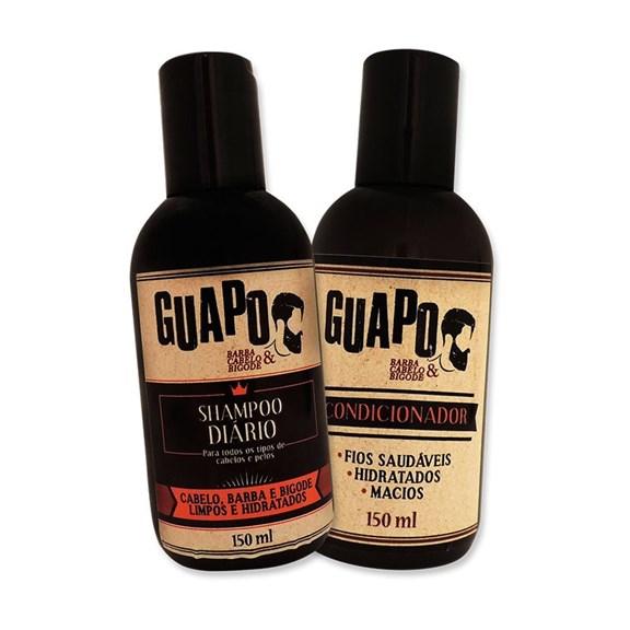 COMBO   Shampoo Diário Guapo 150ml + Condicionador Guapo 150ml