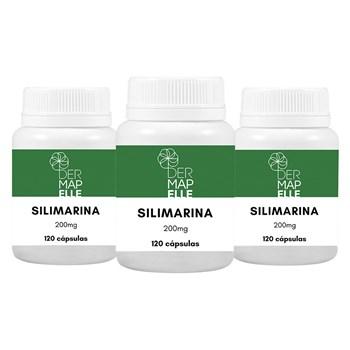 COMBO Silimarina 200mg 120 cápsulas (3 unidades)