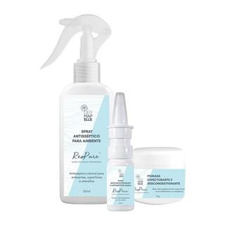 COMBO   Spray Nasal + Spray para Ambiente + Pomada - ResPure™