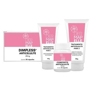 COMBO | Tratamento Completo Anticelulite com Dimpless® 40mg