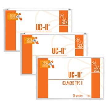 COMBO | UCII - Colágeno Tipo II 30 Cápsulas (3 Unidades)