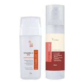 COMBO | Vitamina C 20% - Estabilize C + Espuma Facial Extra Suave
