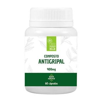 Composto Antigripal 400mg 60 Cápsulas