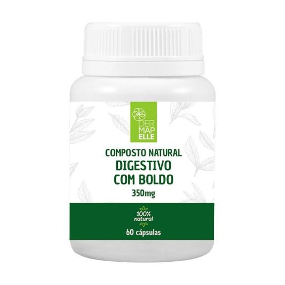 Composto Natural Digestivo com Boldo 350mg 60 Cápsulas