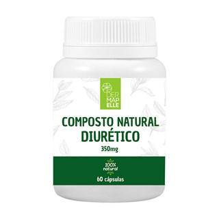 Composto Natural Diurético 200mg 60 Cápsulas