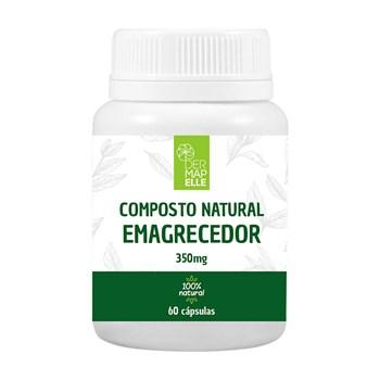 Composto Natural Emagrecedor 350mg 60 Cápsulas
