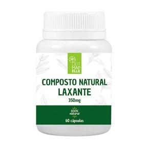 Composto Natural Laxativo 350mg 60 Cápsulas