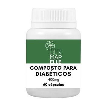 Composto Natural para Diabéticos 60 Cápsulas