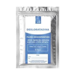 Desloratadina em Filme Dispersível Orodispersível 5mg 10 Unidades