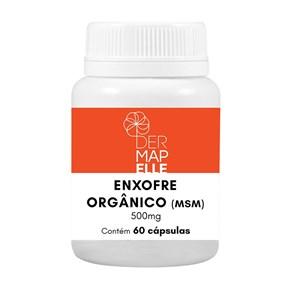 Enxofre Orgânico (MSM) 500mg 60 Cápsulas