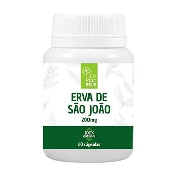 Erva de São João 200mg 60 Cápsulas