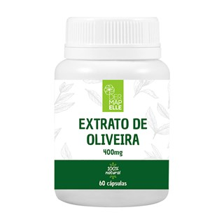 Extrato de Oliveira 400mg com 60 Cápsulas