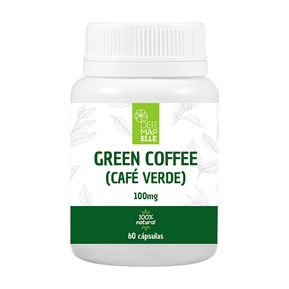 Green Coffee (Café Verde) 100mg 60 Cápsulas