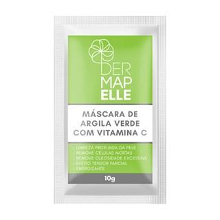 Máscara de Argila com Vitamina C Sachê - Derma Acne 10g
