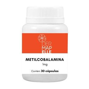 Metilcobalamina 1mg 30 Cápsulas
