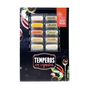 Mix de Temperos 10 Cápsulas