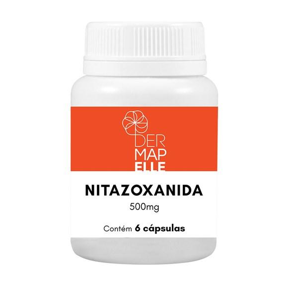 Nitazoxanida 500mg 6 Cápsulas