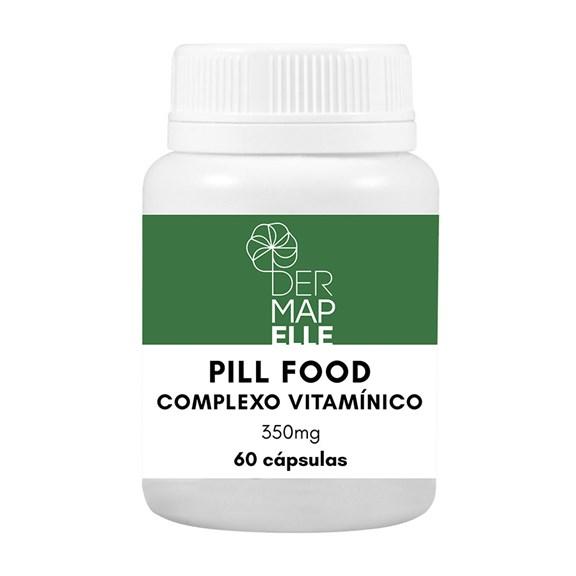 Pill Food Complexo Vitamínico 60 Cápsulas