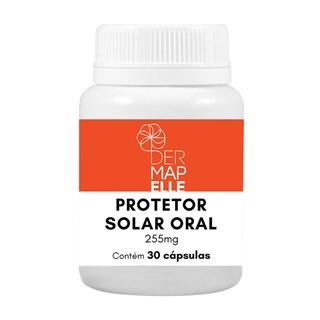 Protetor Solar Oral 255mg 30 cápsulas