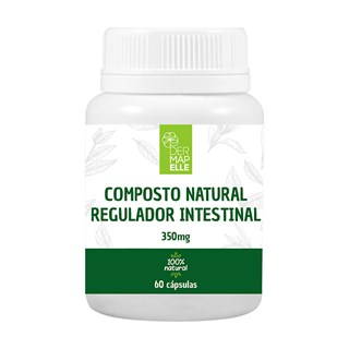 Regulador Intestinal 350mg 60 Cápsulas