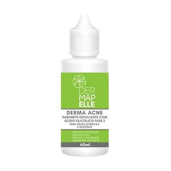 Sabonete Esfoliante com Ácido Glicólico Fase 2 - Derma Acne 60ml