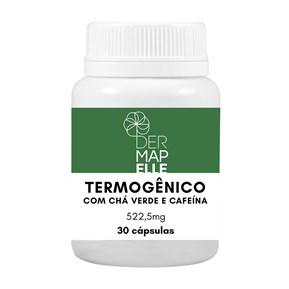 Produto Termogênico com Chá Verde e Cafeína 522,5mg 30 Cápsulas