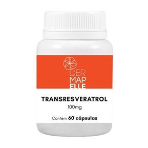 Transresveratrol 100mg 60 Cápsulas