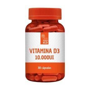 Vitamina D3 10.000 UI 30 Cápsulas